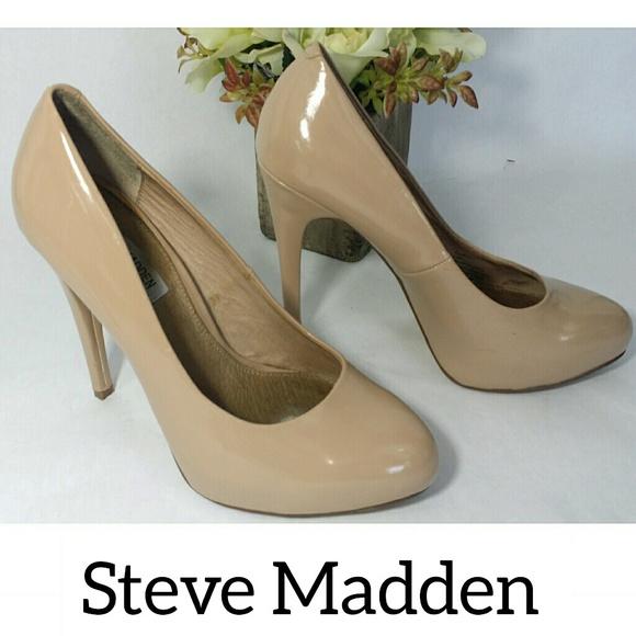 495d18b29c0 Steve Madden High Heel Pumps Nude Tan 8.5M Shoes
